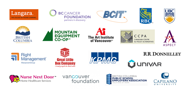 Some of the organizations that were represented at our 2013 XYBOOM conference