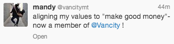 VanCity Credit Union gains a new customer because of aligned values